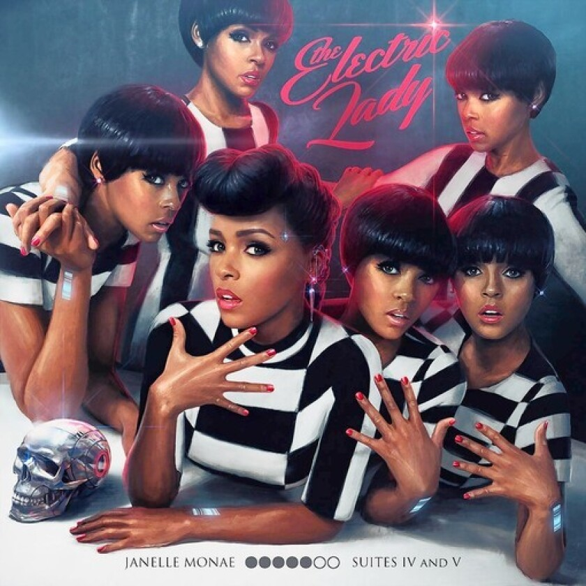 """The Electric Lady,"" a new release by Janelle Monae."