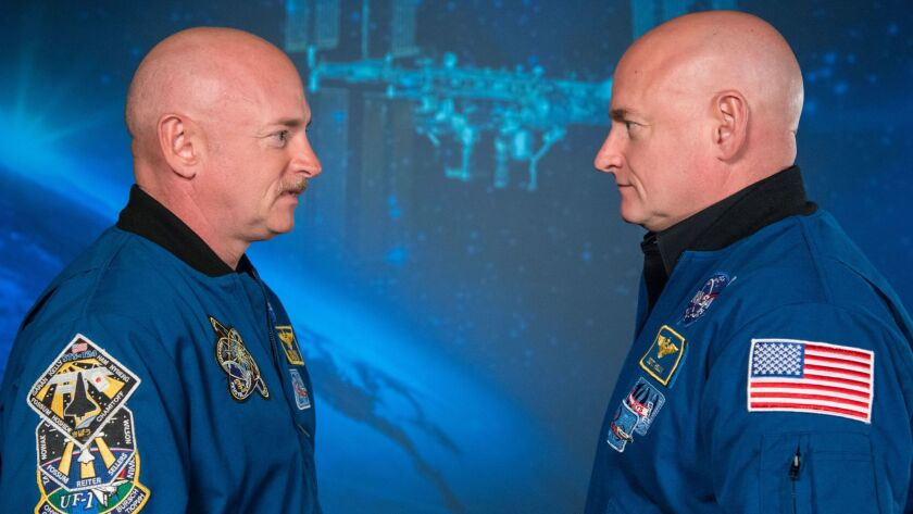 Expedition 45/46 Commander, Astronaut Scott Kelly along with his brother, former Astronaut Mark Kell