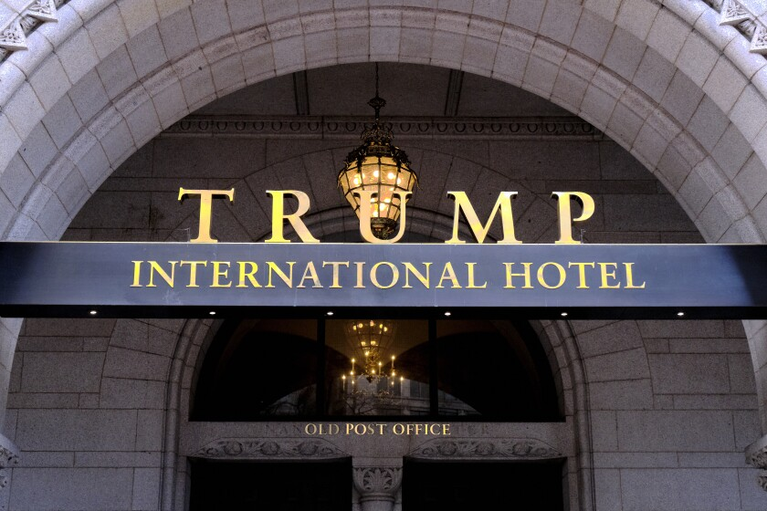 District of Columbia sues Trump inaugural committee over spending at his hotel