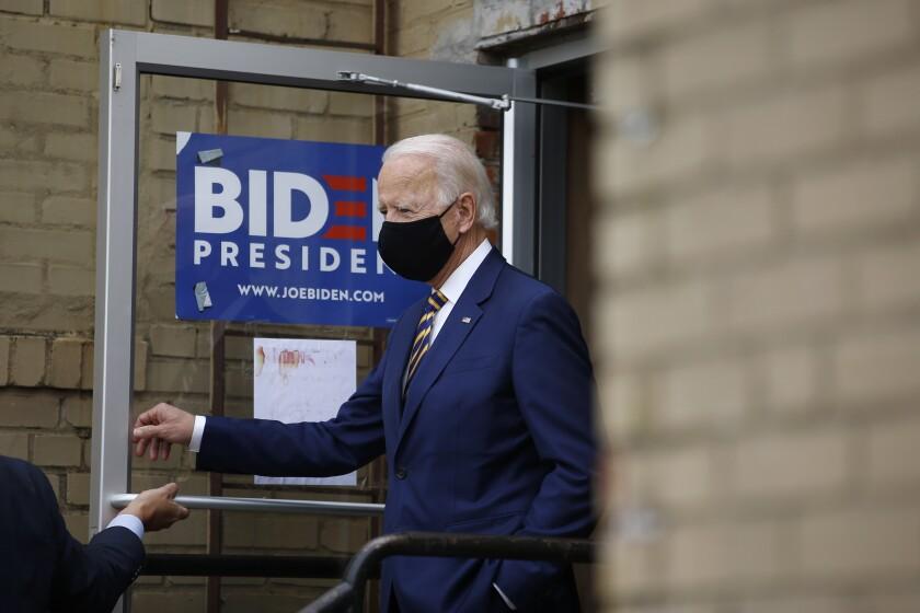 Joe Biden in Yeadon, Pa., on June 17.