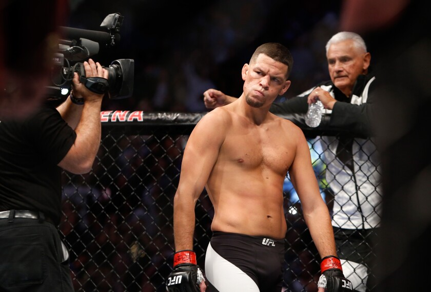 Nate Diaz faces a tough test against Jorge Mazvidal at UFC 244 in New York on Saturday.