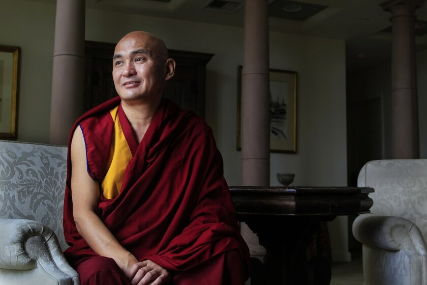 "Lama Tenzin Dhonden: ""There are many requests, demands coming to me."""