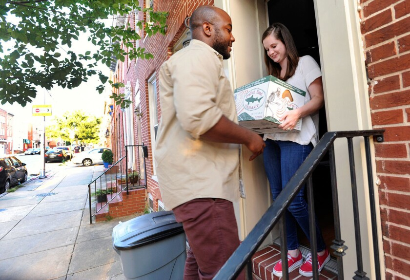 Mobile technology spurs on-demand deliveries to consumers at home