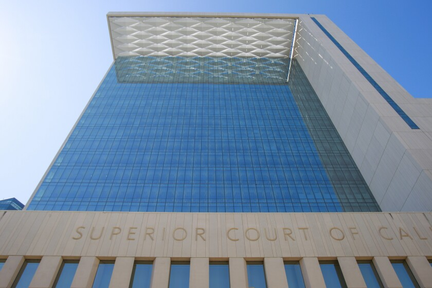 The  San Diego Central Courthouse