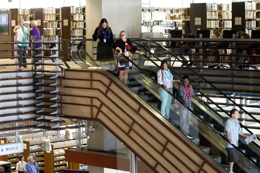 San Diego's Central Library in downtown