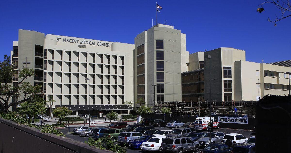 Patrick Soon-Shiong sucht zu kaufen, St. Vincent hospital, erstellen Sie 'central command' für coronavirus