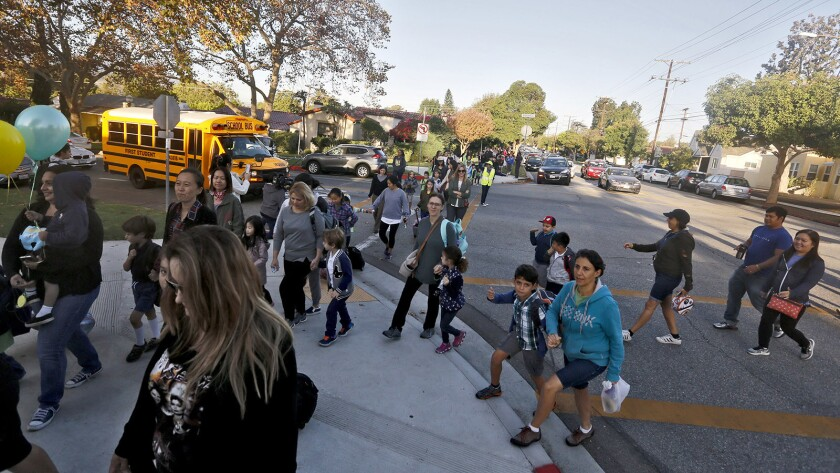 Glendale Unified School District students