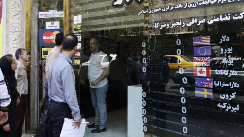 IRAN-SANCTIONS-ECONOMY