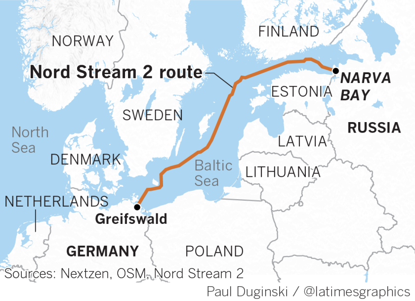 Russian gas pipeline to Germany sows divisions in Europe and