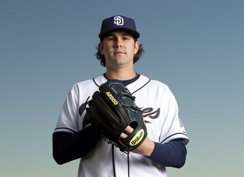 Casey Kelly with the 2013 San Diego Padres.