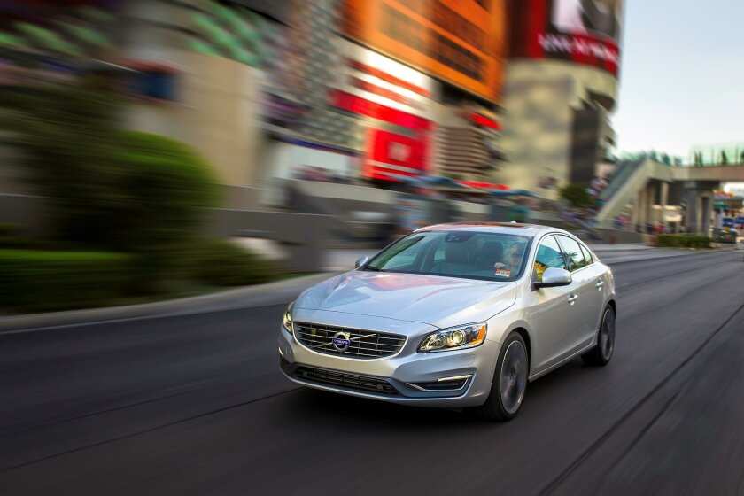Volvo's long-wheelbase S60 Inscription sedan is defined by