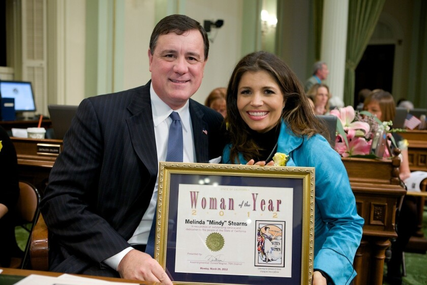 Wagner names Newport resident Woman of the Year