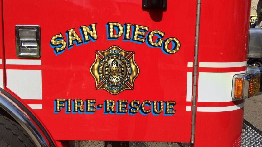 San Diego firefighter suspended after arrest on underage sex