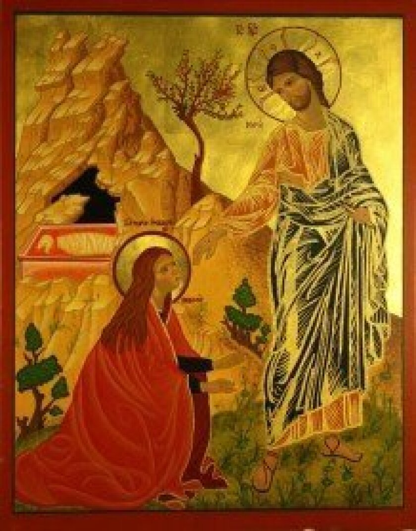 'Resurrection' is one of four icons chosen as cover art for a national Episcopal magazine. Courtesy photo
