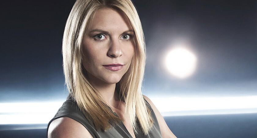 """The Season 3 premiere of """"Homeland,"""" co-starring Claire Danes as Carrie Mathison, opened Sunday with 1.9 million total viewers, according to Nielsen."""