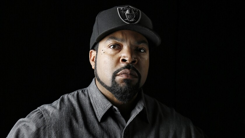 Ice Cube stares it all down