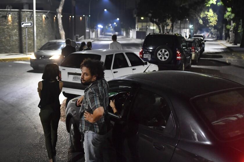 APTOPIX Virus Outbreak Venezuela Gasoline
