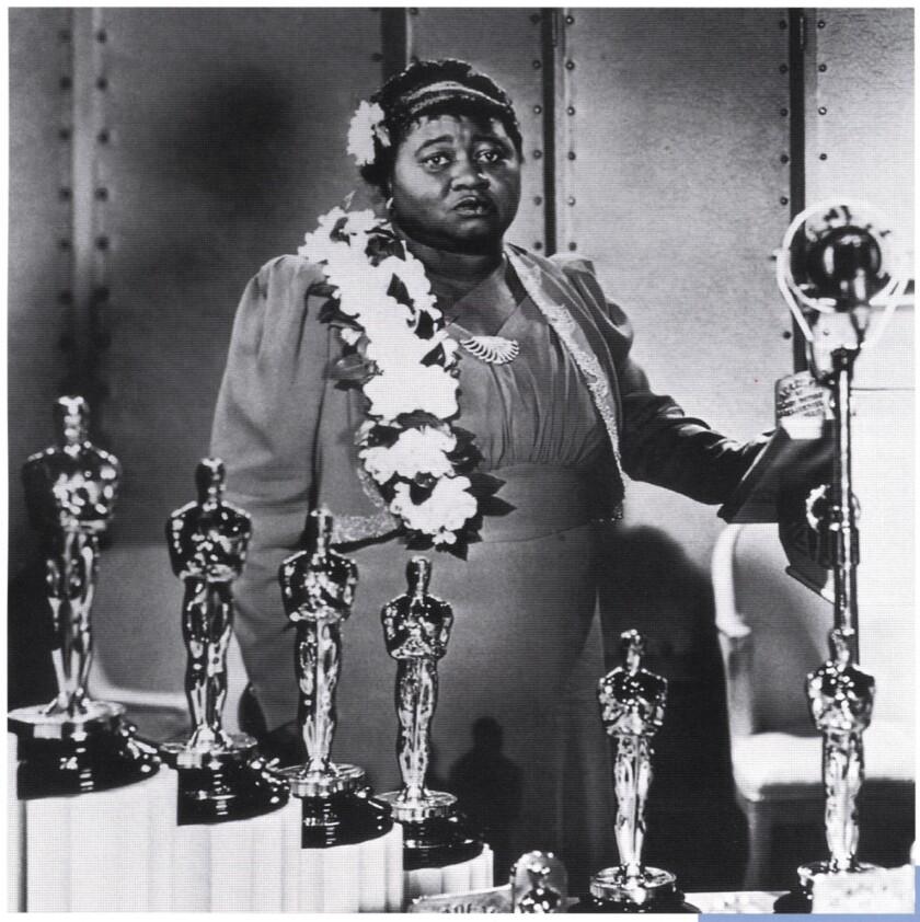 Hattie McDaniel at the 1940 Academy Awards banquet