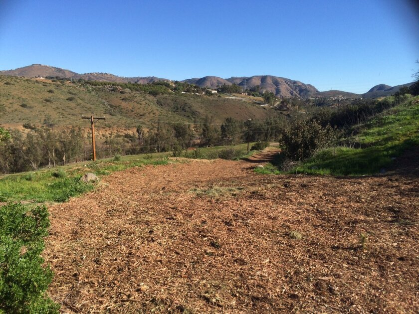The Rancho Santa Fe Association approved a link to the Coast to Crest Trail through the Arroyo Property.