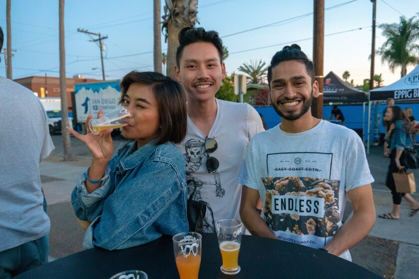 Craft beer fans at the 2018 Karl Strauss Collabapalooza