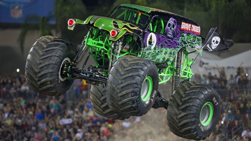 Monster Jam comes to Petco Park on Saturday.