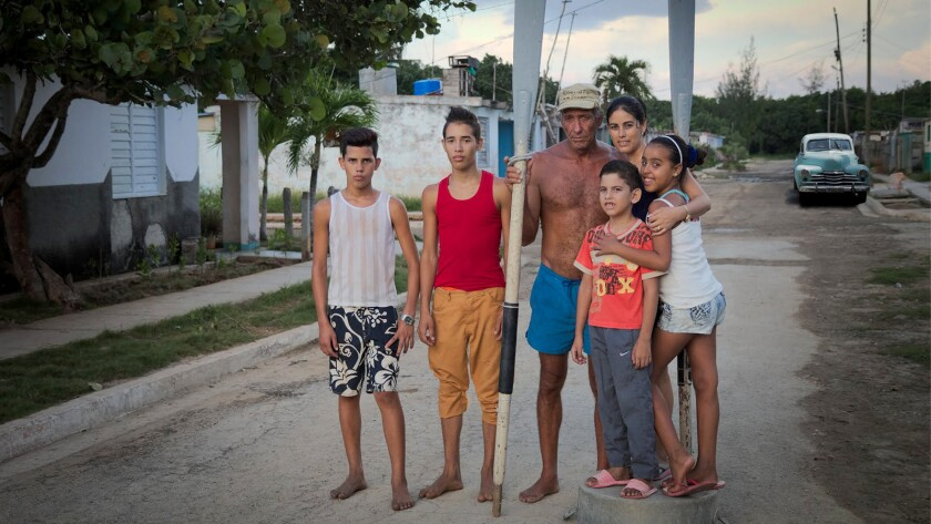 """A Cuban family is profiled in the documentary """"Voices of the Sea"""" on """"POV"""" on KOCE."""