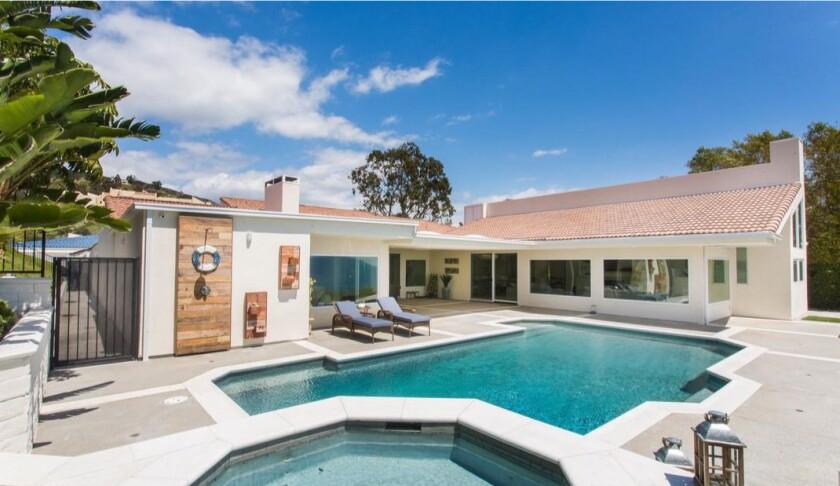 Tiago Splitter's Malibu home