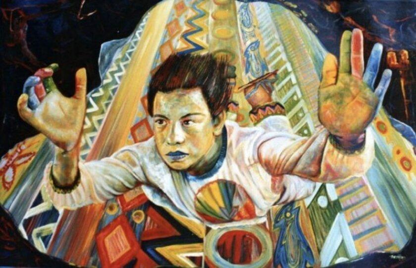 Pintura del maestro Manuel Benítez