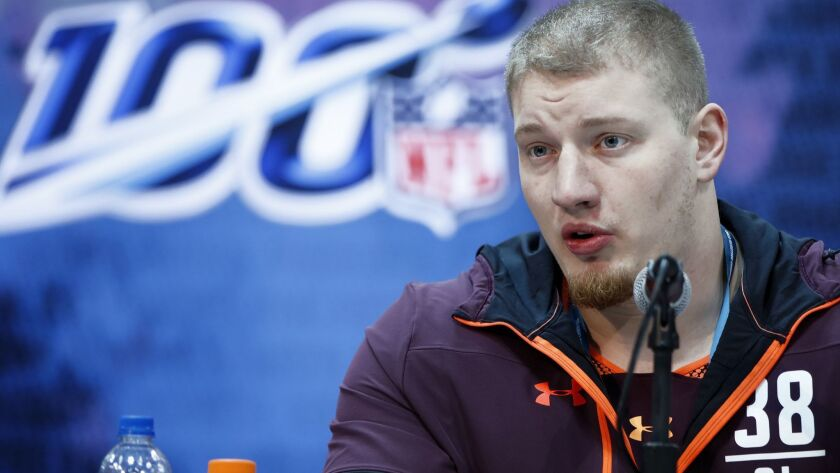 NFL Combine - Day 1