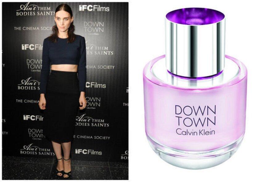 Calvin Klein celebrates Downtown with Rooney Mara