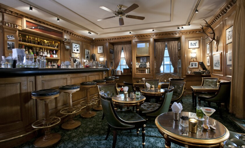 Bar Hemingway, which Ernest Hemingway was said to have liberated in World War II, will be largely unchanged when the Ritz Paris reopens later this year.