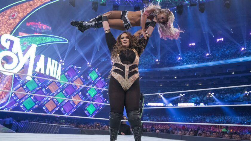 Nia Jax, WWE wrestler
