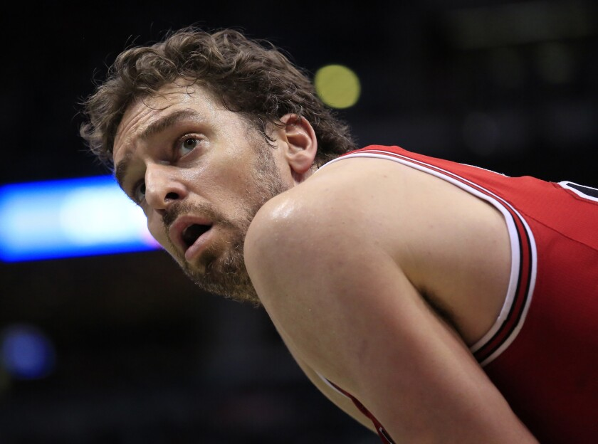 Pau Gasol reportedly set to join Spurs