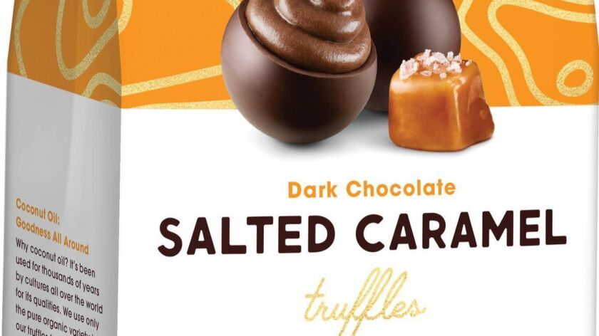 Alter Eco Salted Caramel Truffles from San Francisco brand Alter Eco use fair trade colocate, raw ca