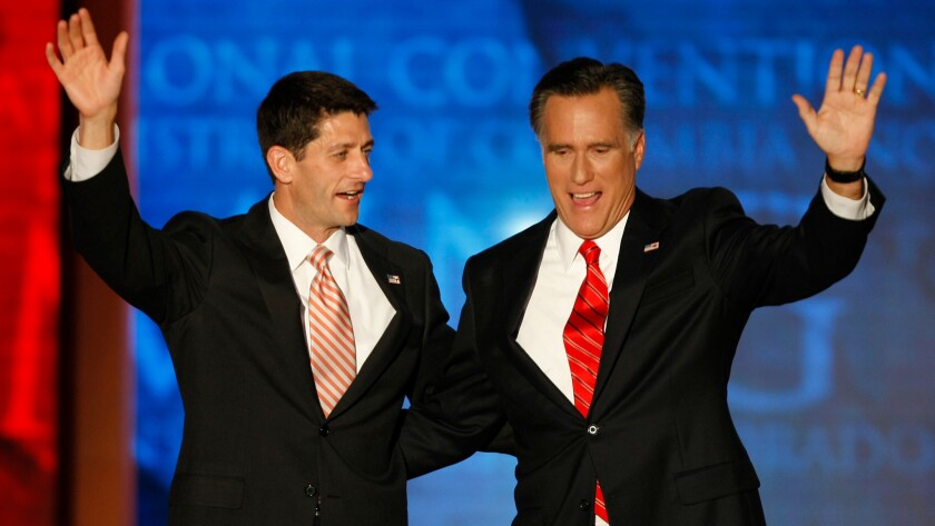 Could Paul Ryan or Mitt Romney possibly be replacement candidates, if Trump dropped out?
