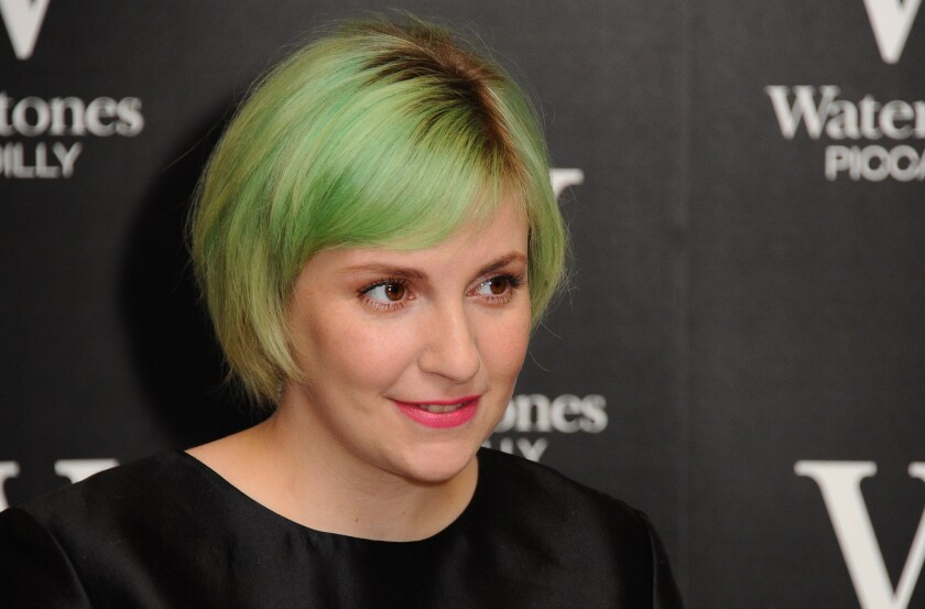 """Voting is kind of a gateway drug to 'getting involved,'"" says Lena Dunham."