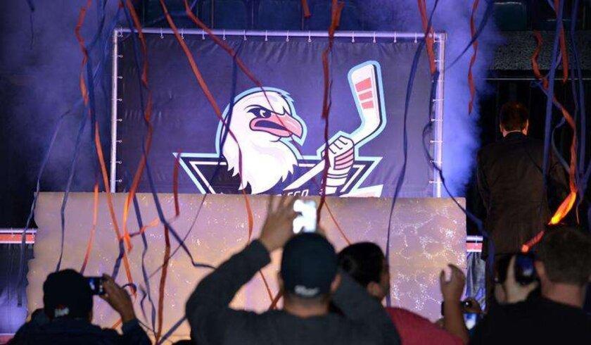 The San Diego Gulls will play 34 home games during their inaugural season in the American Hockey League.