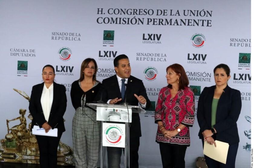 Morena, PAN, MC y PRD presentarán este miércoles un punto de acuerdo para protestar por la reforma constitucional aprobada por el Congreso de Baja California para alargar de dos a cinco años la gestión del gobernador electo Jaime Bonilla.
