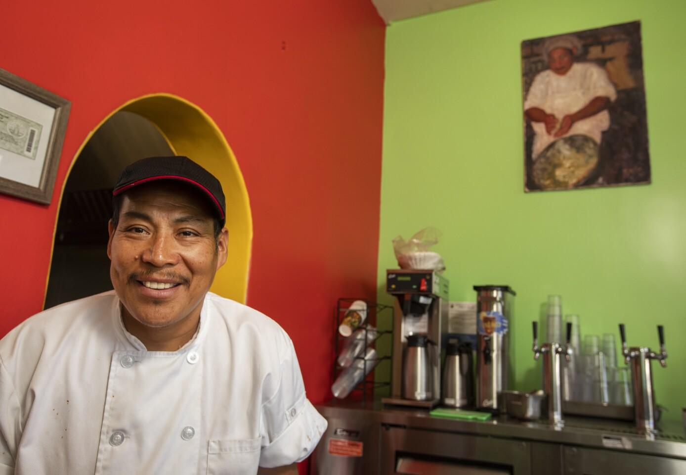 Quiadaiyn Oaxacan restaurant