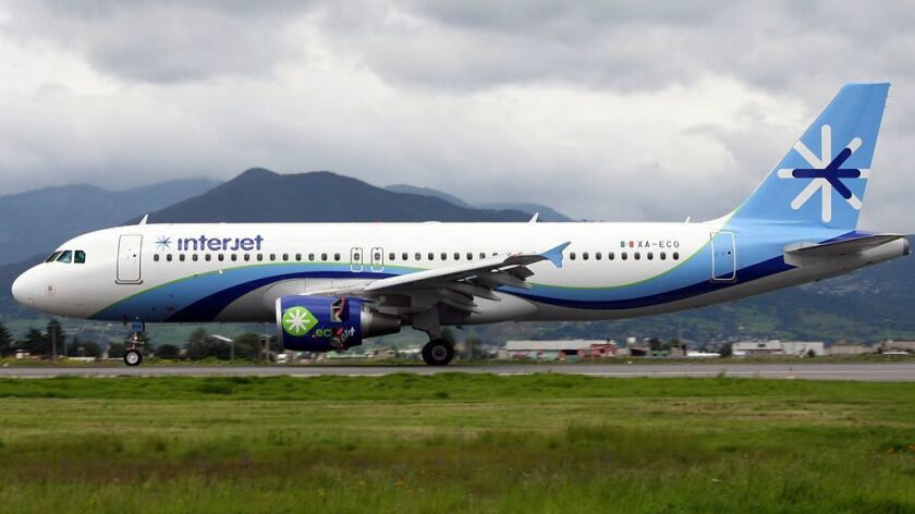 Interjet introduces service to Mexico from Orange County.