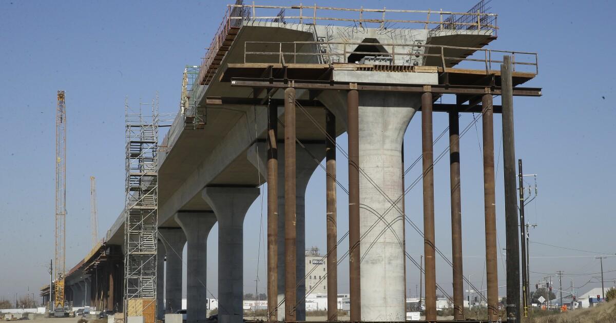 Biden to restore $1 billion for California bullet train - Los Angeles Times