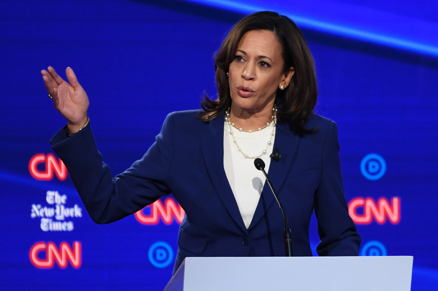 Kamala Harris Slams Republicans On Abortion Says They Re Killing Poor Women Of Color Los Angeles Times