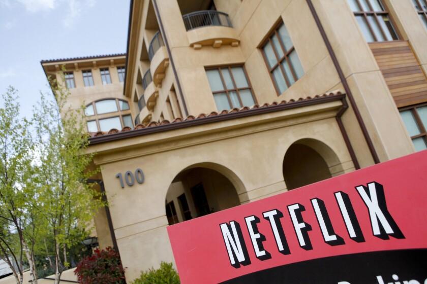 Netflix's headquarters in Los Gatos, Calif.