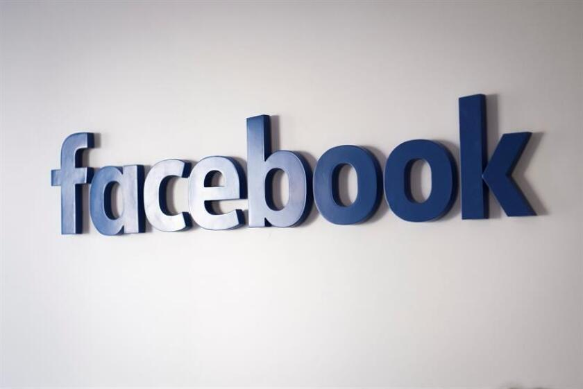 Vista del logo de facebook. EFE/Archivo