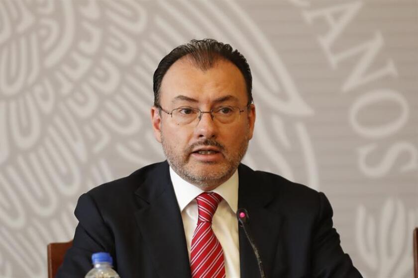 El secretario mexicano de Relaciones Exteriores, Luis Videgaray. EFE/ARCHIVO