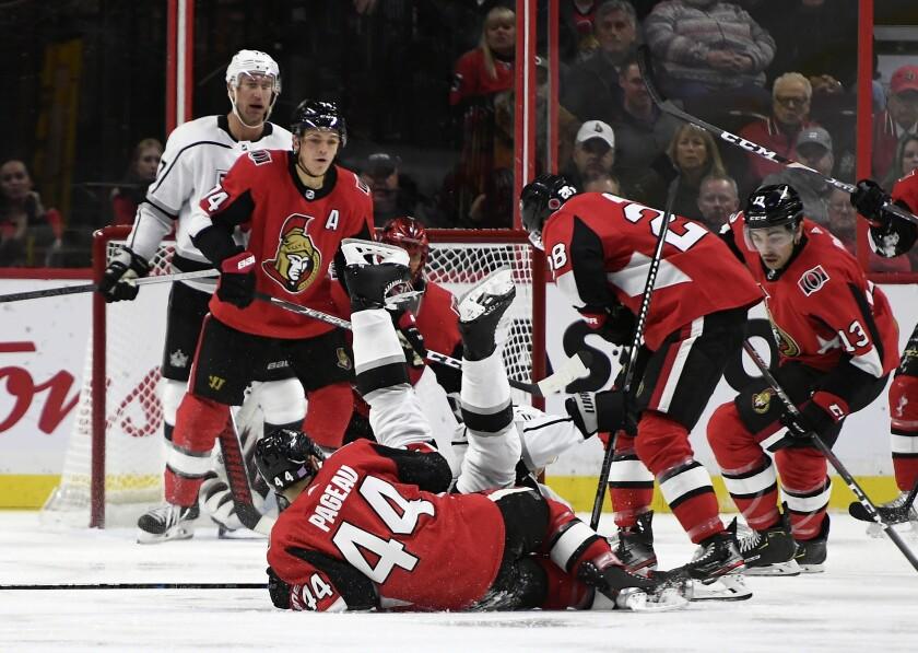 Kings Senators Hockey