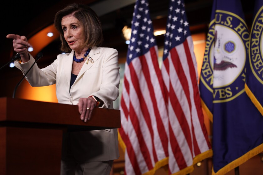 Democrats unveil articles of impeachment against Trump for abuse of power, obstruction