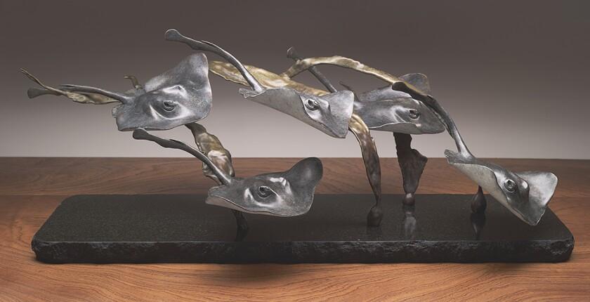 """""""The Fever,"""" a sculpture by Judy Salinsky"""