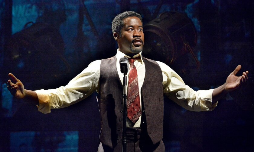 Daniel Beaty, playwright and star of La Jolla Playhouse's world-premiere production of 'The Tallest Tree in the Forest,' is Paul Robeson in his riveting production at the Playhouse's Potiker Theatre. Don Ipock