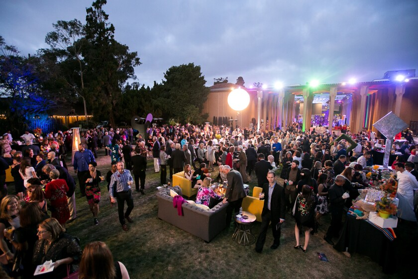 Bloom Bash is part of Art Alive at the San Diego Museum of Art.